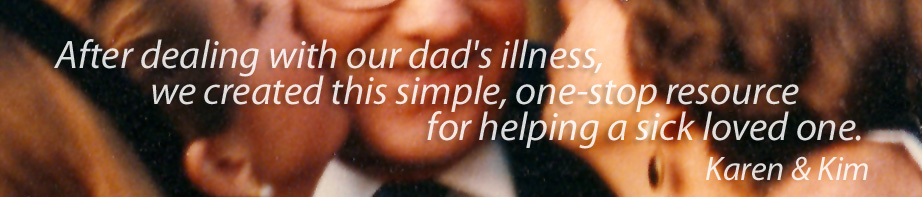 Welcome to In Care of Dad Information Center