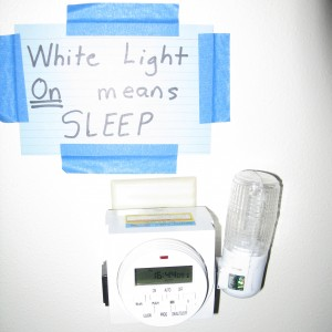 Light ON Means Sleep