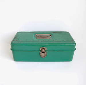 Green Tool Box Photo by Sue Schultz