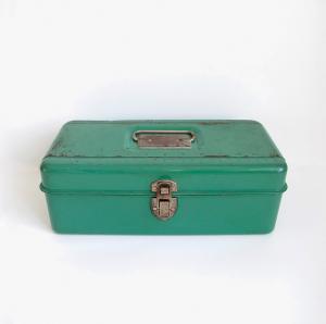 Green Tool Box Photo by Sue Schultz