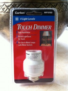 Carlon Touch Dimmer adapter