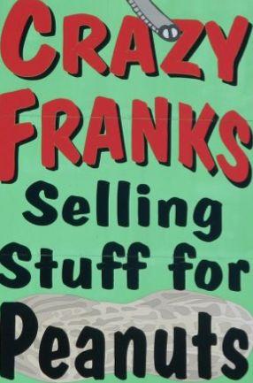 Crazy Franks sign