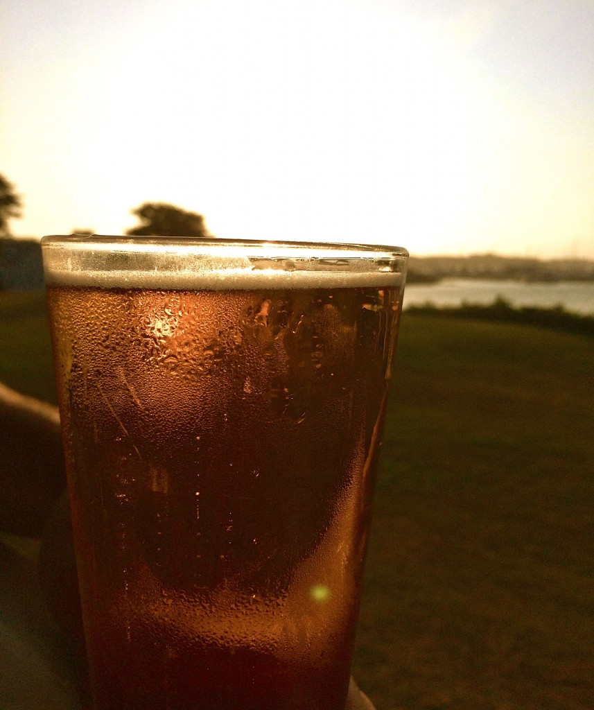 beer sunset 2