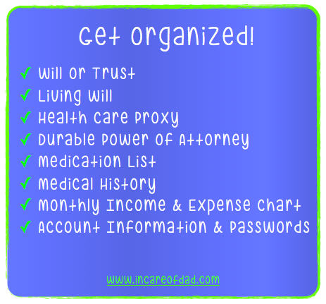 Caregivers Get Organized